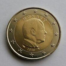 """Monaco 2 euro 2016 """"Albert II"""" UNC"""
