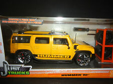 Jada Hummer H2 Just Trucks Yellow 1/24