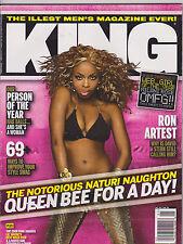 DEC 2008 - KING magazine - NATURI NAUGHTON