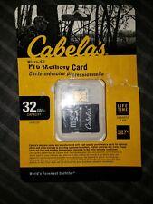 Cabela's 32GB Micro-SD Pro Memory Card w/ Adapter