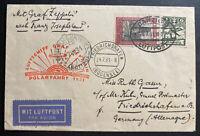 1931 Danzig Graf Zeppelin LZ 127 Polar Flight Cover To Germany Sc#C29