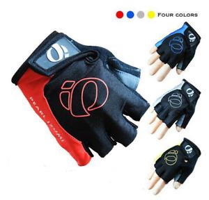 New Half Finger Cycling Bike Bicycle Padded Fingerless Sports Motorbike Gloves