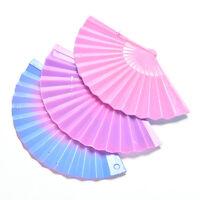 3 Pcs/lot Creative Gradient Color Fan for s Dolls Color Random GXT u1MWUS