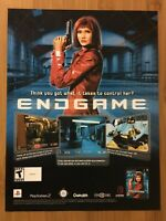 Endgame PS2 Playstation 2 2002 Vintage Video Game Poster Ad Print Art Official
