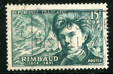 STAMP / TIMBRE FRANCE OBLITERE N° 910 / CELEBRITE / arthur rimbaud