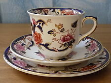 Mason's Ironstone Blue Mandalay  Cup, Saucer and small plate Trio =2