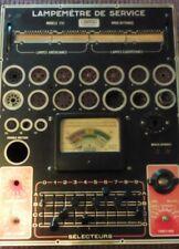Ancien lampemètre Centrad 751 - Made In France 1951 - Vintage - Tube Tester -