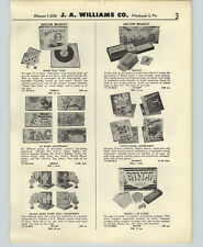 1958 PAPER AD Magic Mary Paper Doll Sargent Preston Annie Oakley Board Games +