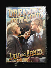 Dreaming Out Loud (DVD, 1940) Lum and Abner, Old Time Radio/OTR, NEW SEALED DVD!