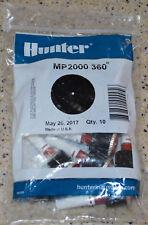 Hunter MP Rotator Nozzle MP2000 360 Rotor Nozzle NIB New Unopened Bag of 10