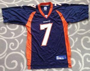 John Elway #7 Denver Broncos Reebok NFL Football Jersey Size Medium