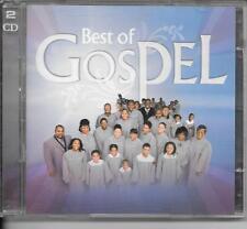 2 CD COMPIL 40 TITRES--BEST OF GOSPEL--STAPLE SINGERS/CARAVANS/ROBESON/JACKSON..