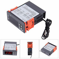 220V Digital Temperature Controller Temp Sensor Thermostat Control STC-1000
