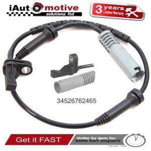 Bmw 1 & 3 Series Front Wheel ABS Speed Sensor E88 E90 E91 34526762465 2005/2014