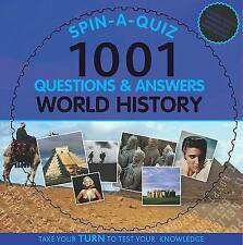 Spin-a-quiz 1001 Questions and Answers World History (1001 Q&a Spin a Quiz), New