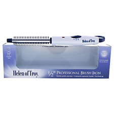 Helen of Troy 1512 Curling Brush Iron 1/2 Inch Barrel Short Hair Styling White