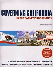 Governing California in the Twenty-First Century (Second Edition) by J. Theodore