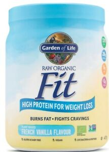 Garden Of Life, Raw Organic, Fit Protein (French vanilla Flavour)