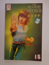 The Blood Sword MA Wing Shing M Baron T Wong #15 Jademan Comics October 1989 NM