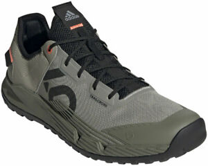 Five Ten Trailcross LT Flat Shoe - Men's, Feather Grey Core Black Signal Coral 9