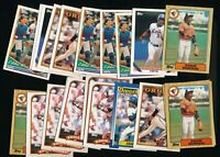Mixed Topps Eddie Murray Orioles Lot of 25