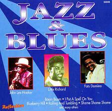 Jazz & Blues 15 TRACKS CD New & orig. Box Hooker, James, Slim, Domino, Stewart,