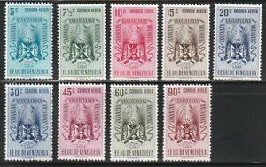 Venezuela   1952   Sc # C410-18   Lara   MNH   XF   (55494)