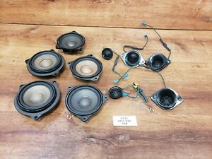 ✅ 11-16 OEM BMW F10 535 550 Audio HIFI Hi-Fi Stereo Sound Speakers Tweeters SET
