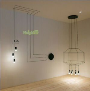 Simple lines wall lamp adjustment spider wall light suspension linear LED sconce