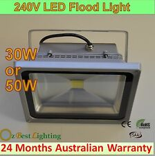 10W 240V LED Waterproof Outdoor Warm or Cool Flood Light