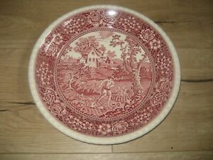 Villeroy &Boch Rusticana Mettlacher Kupferdruck Unterglasur 33 cm Durchmesser