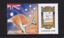 2003 Celebration & Nation 50c Kangaroo MUH With Personalised Tab - London 1908