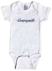 Campagnolo Script Baby Infant One Piece Short & Long Sleeve - Cycling Cinelli