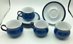 Denby Imperial Blue Cup, Saucer and Sugar Bowl Bundle (SW140G)