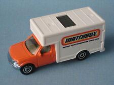 Matchbox absorptions delivery van courier orange jouet voiture modèle dans bp