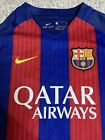 Boys Nike Dry Fit Barcelona Football Shirt Age 8 To 10 Years