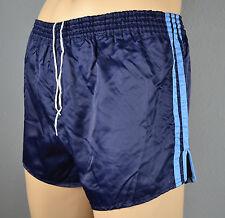 ADIDAS Glanz Nylon Shorts!!!  Vintage Short Sporthose Dunkelblau-Gr.:L-6 (1333)