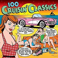 100 Cruisin' Classics 4 CD Set Chuck Berry Elvis Roy Orbison Drifters +more