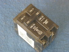 Cutler Hammer 50 Amp 2 Pole Circuit Breaker BR250 (used)