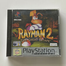 PLAYSTATION 1 PS1 RAYMAN 2 •THE GREAT ESCAPE• 100% COMPLETE PAL