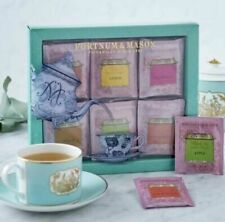FORTNUM & MASON BLACK TEA WITH FRUIT 60 TEABAG SELECTION