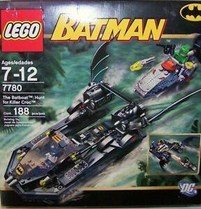 LEGO 7780 Batman Bat boat - Hunt for Killer Croc