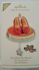 2011 Hallmark Ornament It's All In the Shoes! Wizard of Oz Spec Edition NIB NEW
