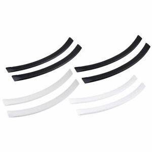 1Set Car Fender Trim Flares Arch Wheel Eyebrow Protector Sticker Strip Universal