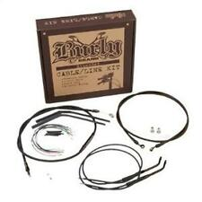 "BURLY BRAND CABLE/BRAKE LINE KIT FOR HARLEY 97-03 XL WITH 16"" APE HANGERS B30-1"