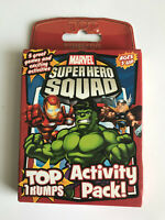 Marvel Superhero Squad Activity Pack! Top Trumps - Age 3+ - 5 great games