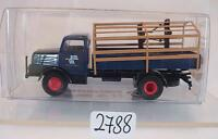 Brekina 1/87 71512 IFA S 4000 LKW Pritsche mit Spriegel OVP #2788