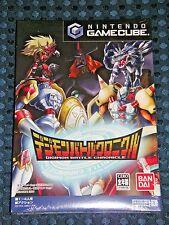 RARE! NEW Sealed Nintendo GC Digimon Battle Chronicle GameCube Game Cube JAPAN
