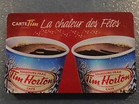 2014 FRENCH Tim Hortons HOLIDAY CHEER (FD44457) gift card (no cash value)