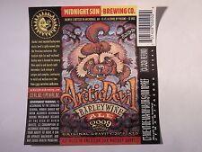 Beer Label: Midnight Sun Brewing Co Arctic Devil Barley Wine 2009 Alaska Brewery